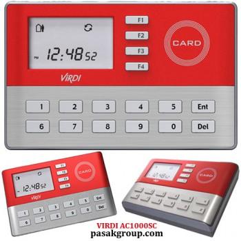 VIRDI AC1000SC دستگاه حضور غیاب اکسس کنترل دسترسی کارتی غیر تماسی ویردی