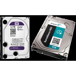 قیمت خرید هارد دیسک مخصوص سیستم نظارت تصویری و حافظه ذخیره ساز دوربین مدار بسته : Seagate و WD