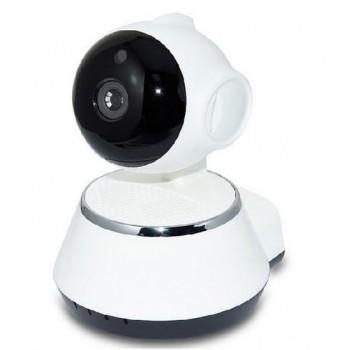 دوربین هوشمند WiFi V380 گردان با انتقال تصویر اینترنتی روی موبایل