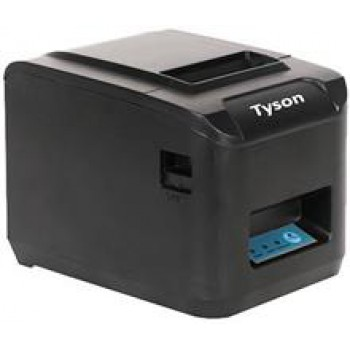 TYSON TY-3018 قیمت فیش پرینتر تک پورت مشکی تایسون TYSON TY3018