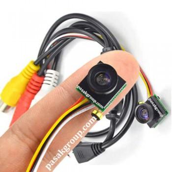 دوربین دکمه ای به همراه ریزترین دستگاه دی وی آر ضبط تصاویر