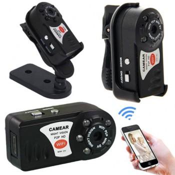دوربین مینی دی وی Q7 قیمت دوربین مینی دی وی وای فای رم خور Mini DV Q7 Wifi HD P2P Camera