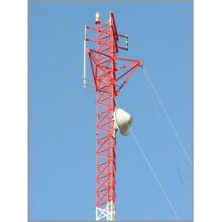 خرید آنلاین دکل مهاری Guyed Mast Tower : G35,G45,G65,G80   قیمت خرید و اجرت نصب