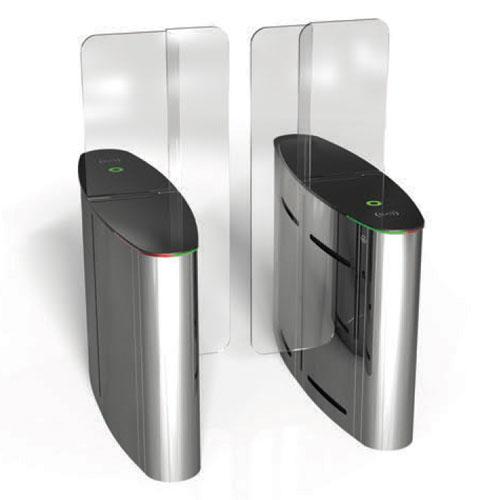 گیت حراستی کنترل تردد شیشه ای نفر رو مترویی قیمت گیت شیشه ای کنترل ترد افراد