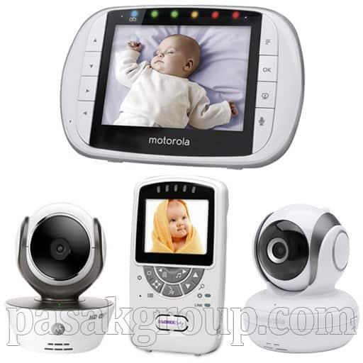 دوربین کنترل اتاق نوزاد و دوربین پرستار کنترل اتاق کودک و سالمند با مانیتور و دوربین بیسیم مخفی مداربسته خانگی