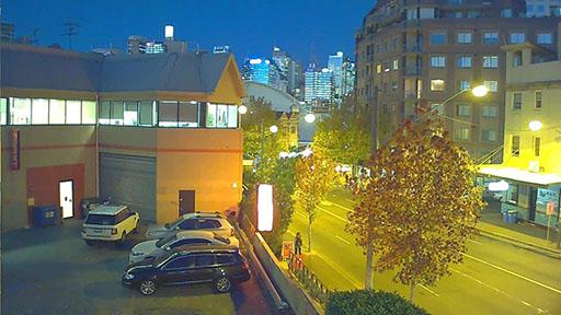 دوربین استار لایت: نمونه تصویر رنگی دوربین Starlight در شب با نور کم