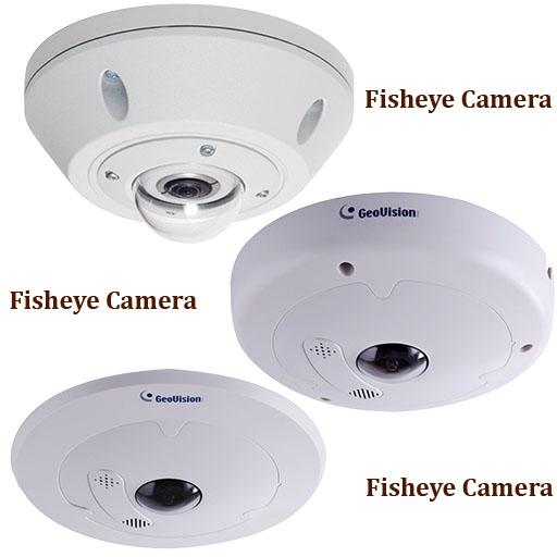 دوربین های چشم ماهی 360 درجه