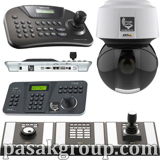 کیبورد دوربین مداربسته و انواع کیبورد کنترلر دوربین اسپید دام و جوی استیک دوربین گردان